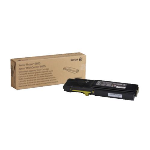 Toner für Phaser 6600/6605 6000Seiten yellow Xerox 106R02231 Produktbild Front View L