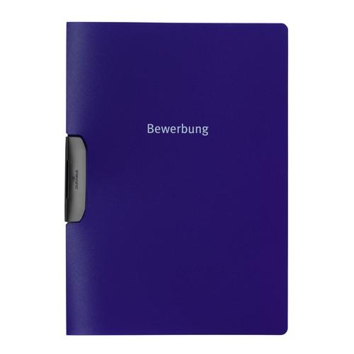 Bewerbungsmappe Duraswing job A4 30Blatt dunkelblau PP Durable 2289-07 Produktbild