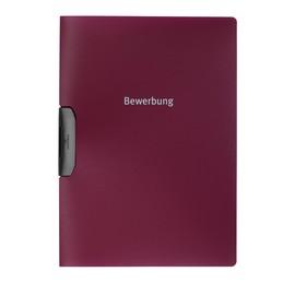 Bewerbungsmappe Duraswing job A4 30Blatt aubergine/dunkelrot PP Durable 2289-31 Produktbild