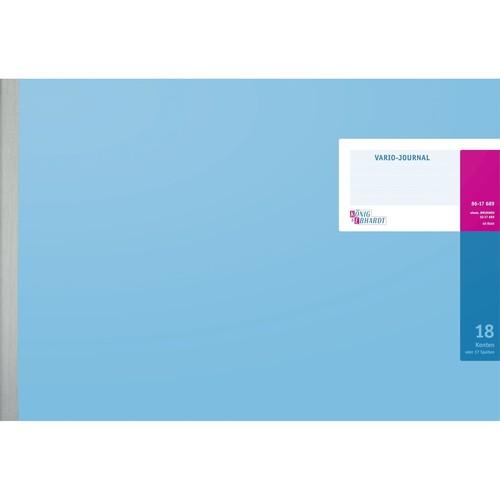 Journal 18 Konten 49x29,7cm 48Blatt Hartpappe König&Ebhardt 86-17689 Produktbild Front View L