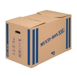 Umzugskarton Multibox XXL 760x430x435mm braun/blau Karton Nips 118187122 Produktbild