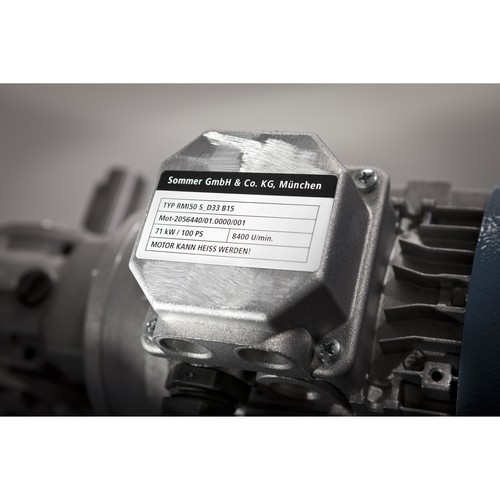 Folien-Etiketten Laser 45,7x21,2mm auf A4 Bg wetterfest+widerstandsfähig+ permanent weiß Zweckform L7911-10 (PACK=960 STÜCK) Produktbild Additional View 6 L
