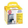 Ordner-Etiketten schmal 38x190mm weiß permanent Zweckform AS0722470 (PACK=110 STÜCK) Produktbild