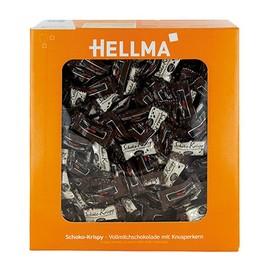 HELLMA Schoko-Krispy Vollmilchschokolade mit Knusperkern (KTN=380 STÜCK x 1,1 GRAMM) Produktbild