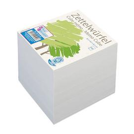 Zettelklotz 8,5x8,5x8,5cm 650Blatt Recyclingpapier Brunnen 86-55630 Produktbild