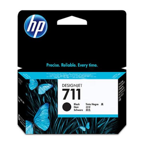 Tintenpatrone 711 für HP DesignJet T120/ T520 38ml schwarz HP CZ129A Produktbild Front View L