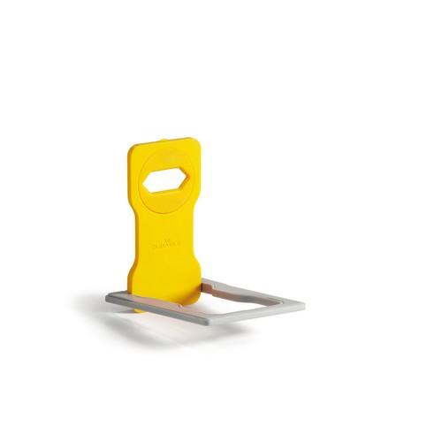 Phone Holder für Ladevorgänge 84x4,5x134mm gelb Durable 7735-04 Produktbild Additional View 1 L