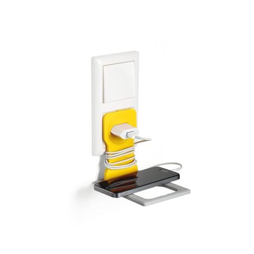 Phone Holder für Ladevorgänge 84x4,5x134mm gelb Durable 7735-04 Produktbild Additional View 2 L