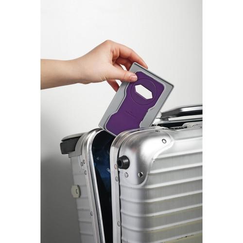Phone Holder für Ladevorgänge 84x4,5x134mm lila Durable 7735-12 Produktbild Additional View 4 L