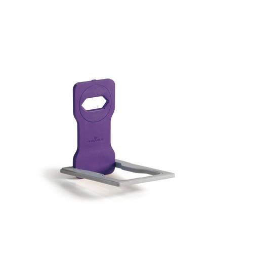 Phone Holder für Ladevorgänge 84x4,5x134mm lila Durable 7735-12 Produktbild Additional View 1 L