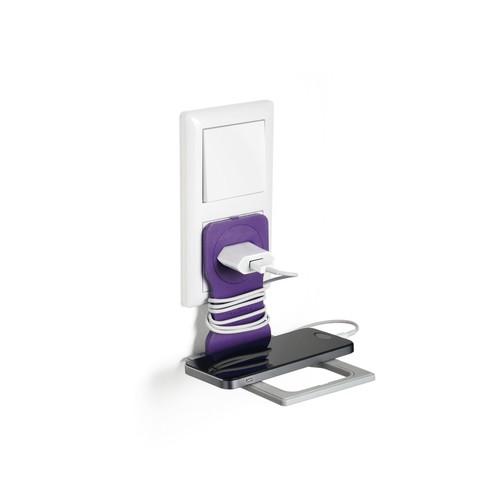 Phone Holder für Ladevorgänge 84x4,5x134mm lila Durable 7735-12 Produktbild Additional View 2 L