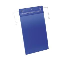 Drahtbügeltaschen A4 hoch dunkelblau Durable 1753-07 (PACK=50 STÜCK) Produktbild