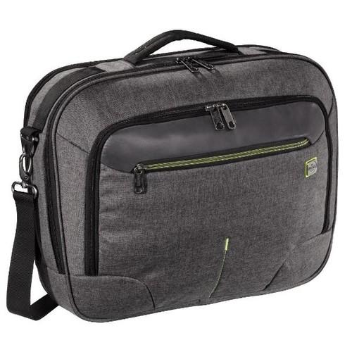 """Businesstasche Frankfurt funktional mit Laptopfach 15,6"""" Ashpalt grey Hama 00129401 Produktbild Additional View 1 L"""