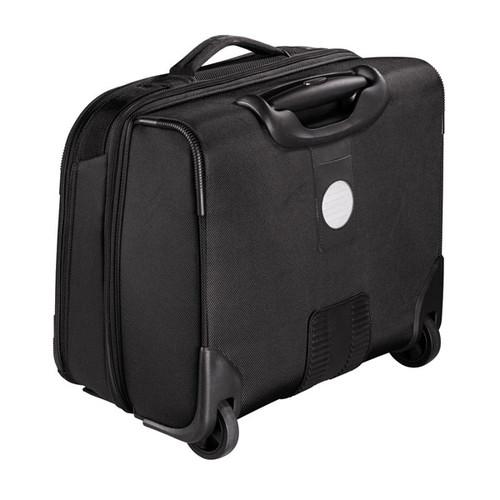 "Businesstrolley mit Laptopfach 15,6"" Twill Black Polyester Hama 00129391 Produktbild Additional View 1 L"