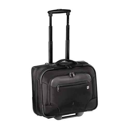 "Businesstrolley mit Laptopfach 15,6"" Twill Black Polyester Hama 00129391 Produktbild Additional View 2 L"