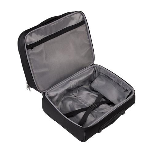 "Businesstrolley mit Laptopfach 15,6"" Twill Black Polyester Hama 00129391 Produktbild Additional View 5 L"