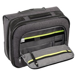 "Businesstrolley mit Laptopfach 15,6"" Asphalt Grey Polyester Hama 00129392 Produktbild"