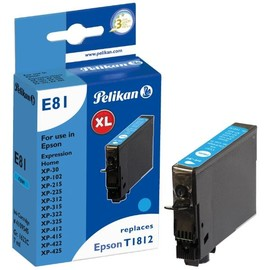 Tintenpatrone (T181240) für Expression XP-30/102/425 7ml cyan Pelikan 4109545 Produktbild