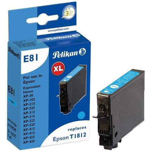 Tintenpatrone (T181240) für Expression XP-30/102/425 7ml cyan Pelikan 4109545 Produktbild Front View L