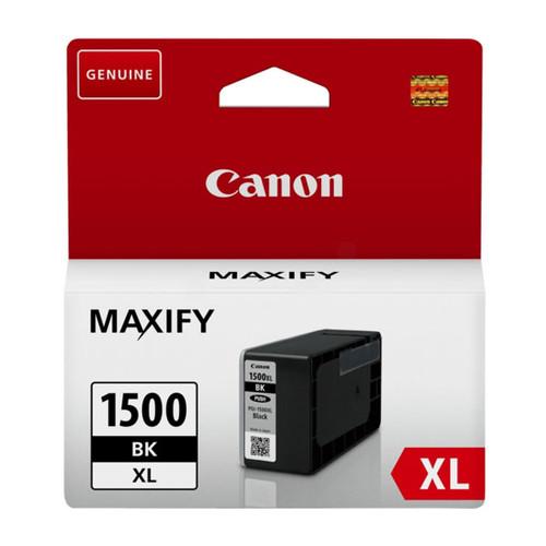 Tintenpatrone PGI-1500XLBK für Canon Maxify MB2000 34,7ml schwarz Canon 9182B001 Produktbild Front View L