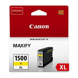 Tintenpatrone PGI-1500XLY für Canon Maxify MB2000 12ml yellow Canon 9195B001 Produktbild