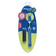 Tintenroller Griffix 3 T2BSR für Rechtshänder bluesea/blau + 2 Patronen Pelikan 928051 Produktbild Additional View 3 S