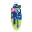 Tintenroller Griffix 3 T2BSL für Linkshänder bluesea/blau + 2 Patronen Pelikan 928069 Produktbild Additional View 4 S