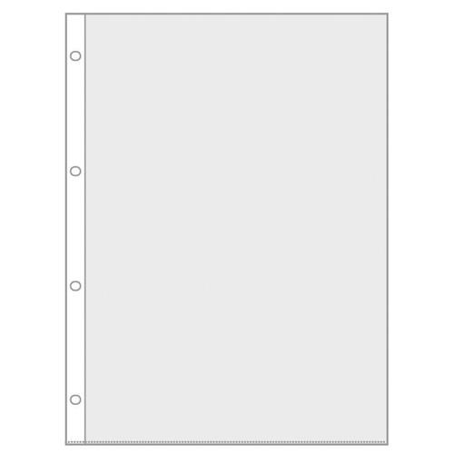 Prospekthülle oben offen A4 hoch 75µ PP glasklar Veloflex 4345000 Produktbild Front View L