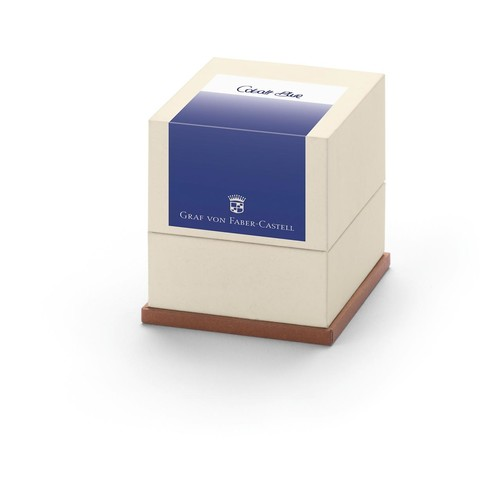 Tintenpatrone GvFC für Füllhalter cobalt blue in Geschenkverpackung Faber Castell 141131 (PACK=20 STÜCK) Produktbild Front View L