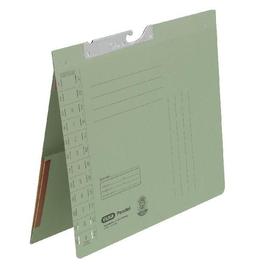 Pendelhefter Amtsheftung mit Dehntasche am Rückdeckel innen 320g grün Manilakarton Elba 100570020 Produktbild