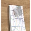 Glas-Magnetboard artverum 910x460x15mm Natural-Wood inkl. Magnete Sigel GL258 Produktbild Additional View 3 S