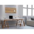 Glas-Magnetboard artverum 910x460x15mm Natural-Wood inkl. Magnete Sigel GL258 Produktbild Additional View 6 S