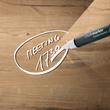 Glas-Magnetboard artverum 910x460x15mm Natural-Wood inkl. Magnete Sigel GL258 Produktbild Additional View 4 S