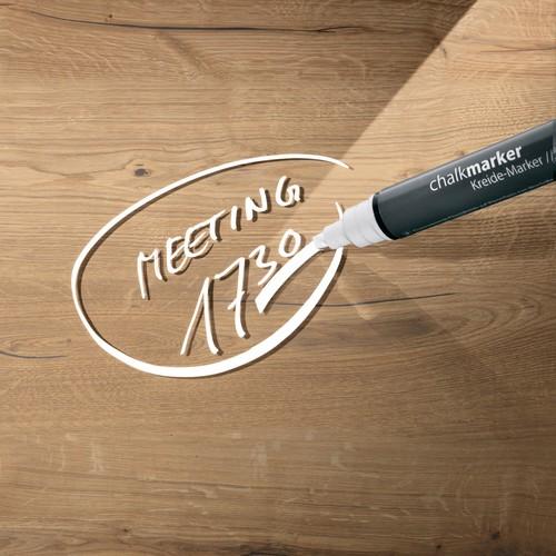 Glas-Magnetboard artverum 910x460x15mm Natural-Wood inkl. Magnete Sigel GL258 Produktbild Additional View 4 L