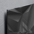 Glas-Magnetboard artverum 910x460x15mm Black-Diamond inkl. Magnete Sigel GL261 Produktbild Additional View 2 S