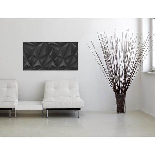 Glas-Magnetboard artverum 910x460x15mm Black-Diamond inkl. Magnete Sigel GL261 Produktbild Additional View 5 L