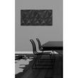 Glas-Magnetboard artverum 910x460x15mm Black-Diamond inkl. Magnete Sigel GL261 Produktbild Additional View 6 S