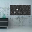 Glas-Magnetboard artverum 910x460x15mm Black-Diamond inkl. Magnete Sigel GL261 Produktbild Additional View 7 S