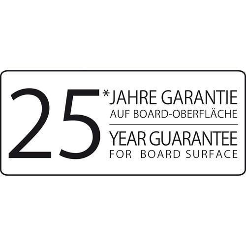 Glas-Magnetboard artverum 910x460x15mm Black-Diamond inkl. Magnete Sigel GL261 Produktbild Additional View 8 L