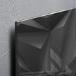 Glas-Magnetboard artverum 480x480x15mm Black Diamond inkl. Magnete Sigel GL257 Produktbild Additional View 2 S