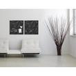 Glas-Magnetboard artverum 480x480x15mm Black Diamond inkl. Magnete Sigel GL257 Produktbild Additional View 6 S