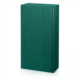 Geschenkverpackung Modern grün Für 2 Flaschen / inkl. Einlage Famulus 000224 Produktbild