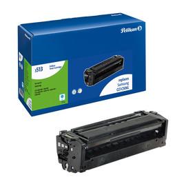 Toner Gr. 3513 (CLT-C506L) für CLP680DW/CLX6260FD 3500Seiten cyan Pelikan 4235145 Produktbild