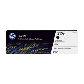 Toner Doppelpack 312XD für Laserjet Pro MFP M470 2x4400Seiten HP CF380XD (PACK=2 STÜCK) Produktbild