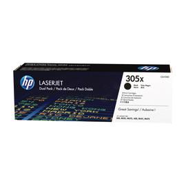Toner Doppelpack 305X für Laserjet Pro 300/400 2x4000Seiten HP CE410XD (PACK=2 STÜCK) Produktbild