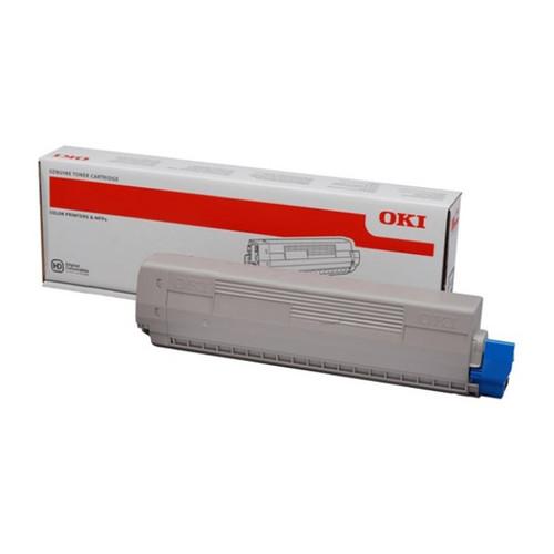 Toner für Oki C831/C840 10000 Seiten cyan OKI 44844507 Produktbild Front View L