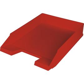 Briefkorb Economy für A4 255x345x67mm rot Kunststoff Helit H2361625 Produktbild