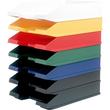 Briefkorb Economy für A4 255x345x67mm schwarz Kunststoff Helit H2361695 Produktbild Additional View 1 S