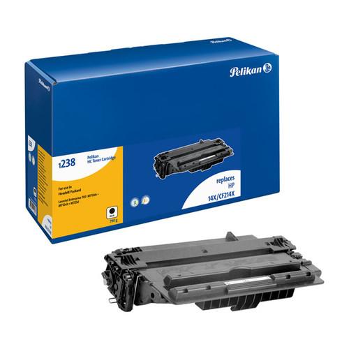 Toner Gr. 1238HC (CF214X) für LaserJet Enterprise 700 MFP M 725DN 17000 Seiten schwarz Pelikan 4229571 Produktbild Front View L