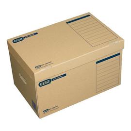Systemcontainer mit Klappdeckel 54,5x36x32cm naturbraun Elba 100421143 Produktbild